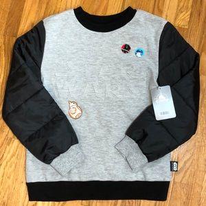 Disney NWT Star Wars Sweatshirt Size 7/8